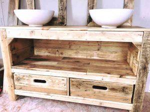 Plan de meuble en palette 10 meubles chics construire for Huile de lin meuble
