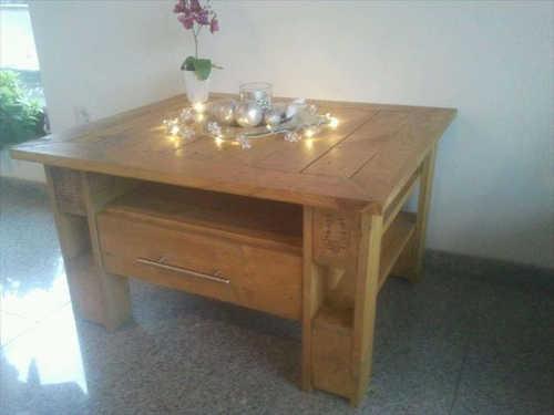 Tuto meuble en bois de palette tuto palette - Meuble en palette en bois ...