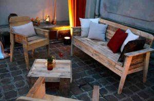 Salon de jardin en bois gratuit
