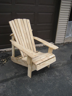 fauteuil adirondack palette