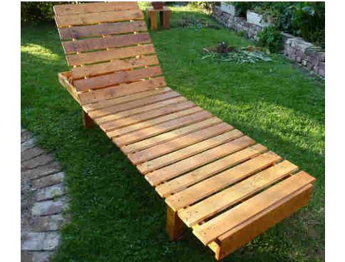 Bain De Soleil Palette tuto chaise longue palette - plans à télécharger