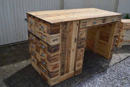 construire mobilier palette